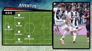Calcio | Juve-Udinese, la probabile formazione - Video ...
