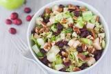 belgian endive and apple salad with cranberry vinaigrette