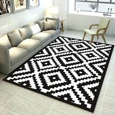 geometric design rugs black and white geometric pattern carpet trend printed rugs carpets living room coffee geometric design rugs