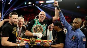 Boxen - Tyson Fury gegen Deontay Wilder ...