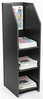 Newspaper rack 1 Danish Wood Newspaper Rack Foter Wood Newspaper Rack Is Perfect For Previewing The Headlines