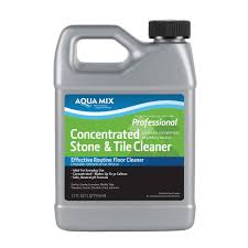 custom building s aqua mix 1 qt concentrated stone and tile cleaner