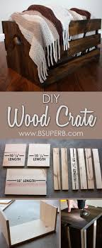 wood crate furniture diy. beautiful diy wood crate step by tutorial furniture diy