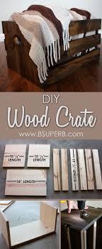 wood crate furniture diy. beautiful diy wood crate step by tutorial furniture diy