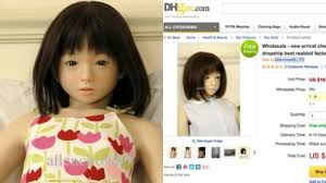 child size love doll petition succeeds in removing child sized sex doll from chinese site