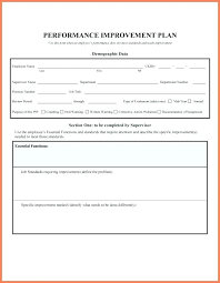 Coaching Plan Template Adorable Attendance Improvement Plan Template Shirayuki