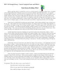 002 Cause And Effect Essay On Divorce Example Best Ideas Of