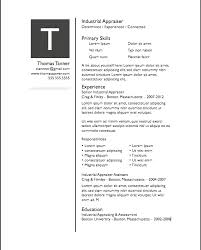 Free Modern Resume Template For Pages Simple Modern Resume Free ...