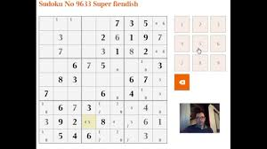 Sudoku Puzzel Solver How To Solve Very Difficult Sudoku Puzzles Youtube