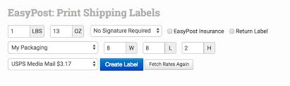 How To Create Labels With Easypost Order Desk Help Site