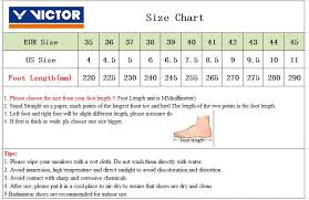 Victor Badminton Shoes Size Chart Us 58 9 10 Off 2019 New Original Victor Brand Professional Badminton Shoes Men Women Sports Shoes Sneakers For Indoor Court Tennis Shoe A362af In