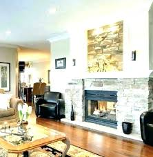 how to decorate a fireplace wall ating cream wallpaper ideas