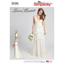 Simplicity Wedding Dress Patterns Awesome Special Occasion