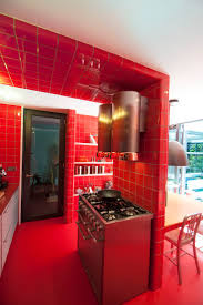 Red Kitchen 17 Best Images About Dtile Kitchens On Pinterest Wands Gallery