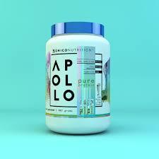 Apollo Pure Protein Powder Gf Keto Friendly Unico