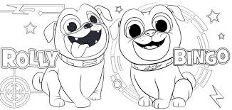 9 Fun Puppy Dog Pals Coloring Pages For Children Coloring Pages