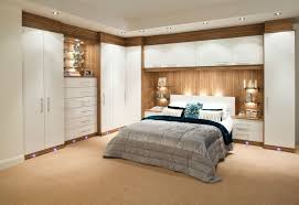 Fitted bedrooms small space Designer Fabulous Bedroom Design Wall Led Lamp Modern Built In Wardrobes In White Finish Sacdanceorg Bedroom Fabulous Bedroom Design Wall Led Lamp Modern Built In