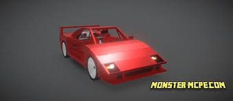 Download skin ferrari_ for game minecraft, in format 64x64 and model steve. Ferrari F40 Add On 1 16 Minecraft Pe Addons