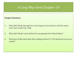 A Long Way Gone Quotes Extraordinary A Long Waygoneunitpowerpointslides