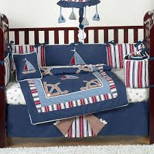 perfect nautical toddler bedding style decorate nautical toddler nautical crib bedding sets