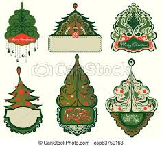 Christmas Tree Labels Gy414 Eps