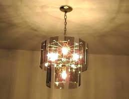 sea gull lighting 4 light chandelier in antique brushed nickel with clear beveled glass cognac