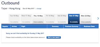 Ba Avios Upgrade Chart Ba And Cathay Pacific Blocking Last Minute Avios Awards