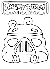 Adult Angry Bird Star Wars Coloring Pages Printable Angry Bird Star