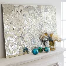 Broken Mirror Wall Art Handcrafted In Indonesia Where Capiz Shell Is Plentiful Our Dare