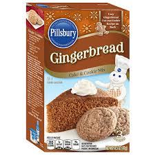 pillsbury gingerbread cookies. Pillsbury Gingerbread Cake Cookie Mix And Cookies