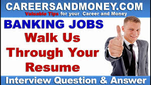 Walk Me Through Your Resume Sample Answer Tell us something about yourself OR Walk us through your resume 67