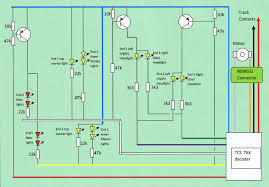 class dcc conversion and lighting update circuit diagram