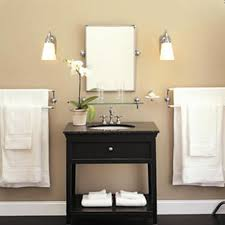 image of modern bathroom lighting design