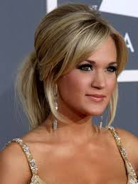 Carrie Underwood Updo Hairstyles Carrie Underwood Updo Hairstyles Messy Ponytail Hairstyle For Casual Long Hairstyle Galleries