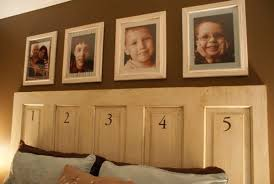 view in gallery turning an old door into a headboard is one of the simplest projects you can do view in gallery