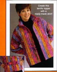Constructing a Sweatshirt Jacket. While I do not like the idea of ... & cute jacket pattern More · Embellished JacketsQuilted Sweatshirt ... Adamdwight.com