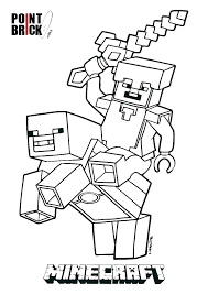 Minecraft Diamond Steve Coloring Pages Best Of Coloring Page