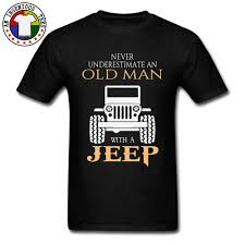 Jeep T Shirt Designs Black T Shirt Jeep Grandfather Tshirts Vintage Cars Motorcycle Design Plain T Shirt Larger Size Clothing Fathers Day Gift Tees