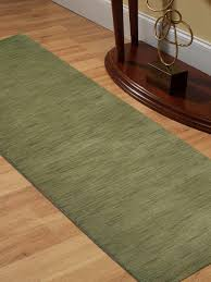 lori knotted contemporary wool runner rug green l00111 getmyrugs com