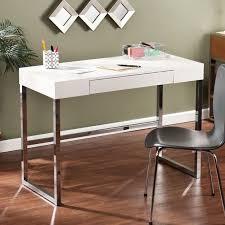 chrome office desk. modern beige crocodile look writing desk white leather luxury chrome office desks and i