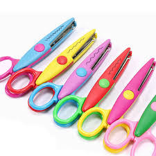 Pattern Scissors Awesome 48PCS Special Edge Stationery Paper Cut Decorative Pattern Scissors