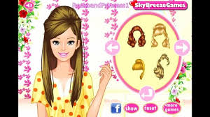 hairstyle make over games barbie games play free barbie games barbie back to inside