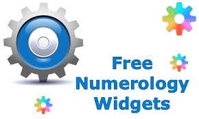 Free Numerology Chart 2016 Numerology Widgets