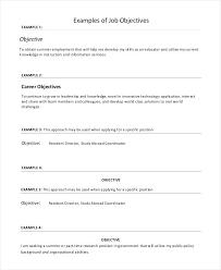 Sales Objective For Resume Sarahepps Com