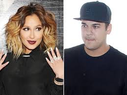 Adrienne Bailon Addresses Rumors She s Back with Rob Kardashian.