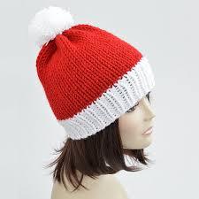 Santa Hat Pattern Magnificent Christmas Hat Knitting Pattern PDF Santa Hat Pattern Pom Etsy