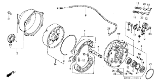 similiar honda foreman parts diagram keywords honda foreman 450 parts diagram in addition honda recon 250 rear brake