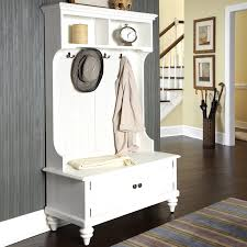 Entry Hall Bench With Coat Rack Mudroom Entry Way Bench White Storage Bench White Entryway Bench 79