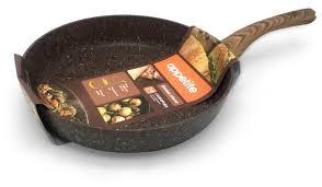 <b>Сковорода Appetite</b> Brown <b>Stone</b> BR2281 28 см — купить по ...
