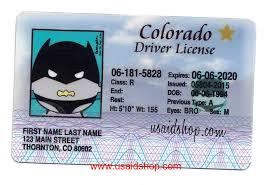 Colorado Type Previous N Drivers - License Vipxsonar